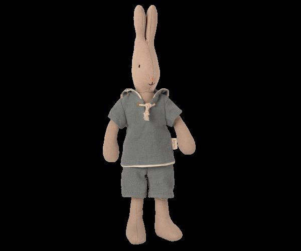 Kanin størrelse 1, matros - støvet blå
